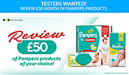 Get Test & Keep Pampers (baby products) - UK