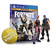 Get Limited Edition Fortnite Xbox/PS4/PC Game USA only!