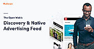 The Open Web's Discovery & Native Advertising Feed