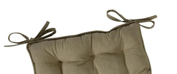 Best Kitchen Chair Cushions Pads Seat Pads With Ties
