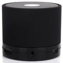 EWA Mini Lightweight Portable Premium Sound Wireless Bluetooth Speaker with Rechargeable Battery - Rubber Black, Enha...