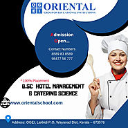 B Sc Hotel Management & Catering Science