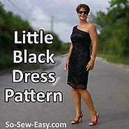 Free Little Black Dress Pattern - So Sew Easy