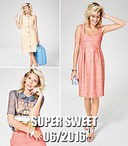 Super Sweet: 8 New Women's Sewing Patterns – Sewing Patterns | BurdaStyle.com