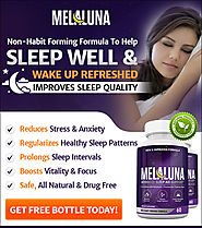 Mela Luna Sleep Aid - Get Free Bottle Today!