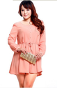 Brand New 2013 Autumn Spring Long sleeve High Waist Lace Dresses, Big Size 3XL 4XL, Top Quality Women's Dress-inDress...