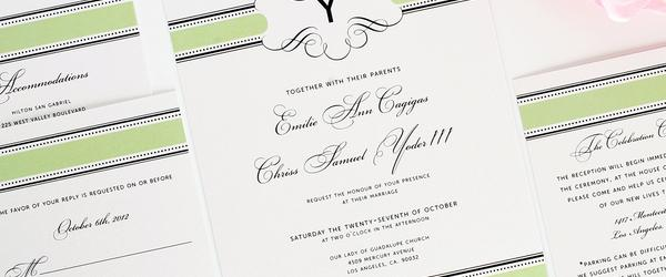 Headline for Best Eco Friendly Green Wedding Invitations 2018-2020