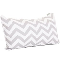 Chevron Pillows and Chevron Pillow Covers - Red, Yellow, Orange, Black and White