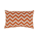 Yellow and Orange Chevron Pillows