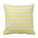 Yellow, Gray, and White Chevron Stripes