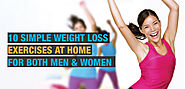 10 Simple Weight Loss Exercises at Home for Both Men & Women