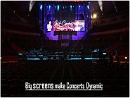 How to Make Your Concert More Energetic with Plasma Screens
