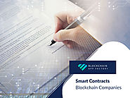 smart contracts blockchain companies