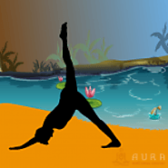 Hatha Yoga for Plantar Fasciitis - Aura Wellness Center - Yoga Instructor Certification