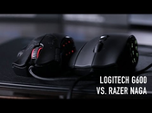 Logitech G600 MMO Gaming Mouse vs Razer Naga