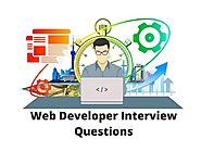 Read Best Web developer Interview Questions 2019 - Online Interview Questions