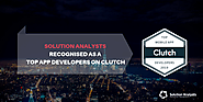 Solution Analysts Secures Position among Clutch's List of Top Mobile App Development Companies in 2019
