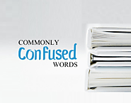 Some Commonly Confused words that you must know