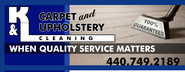 K & L Carpet and Upholstery Cleaning Services | Cleveland, Ohio | Residential and Commercial Carpet Cleaning