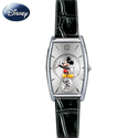 Disney Mickey Mouse Watch - Interchangeable Leather Watchbands