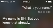 What would your Siri tell us about you?