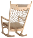 Wegner PP124 Rocking Chair - modern - rocking chairs - by Danish Design Store