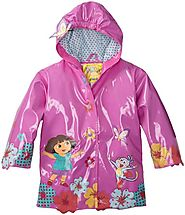 Nickelodeon Little Girls' Dora Raincoat