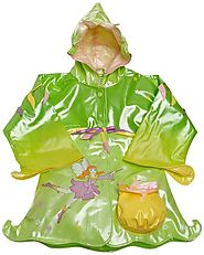 Kidorable Little Girls' Fairy Raincoat