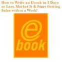 How do I market my ebooks?