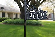 Get Best Ever Reflective Address Signs Only At Address America