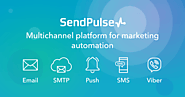 SendPulse is a platform which offers multiple channels of communication with customers:email, web push notifications,...