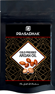 100% Pure Cold Pressed Argan oil - Prasadhak