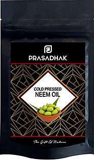 100% pure Cold Pressed Neem Oil - Prasadhak