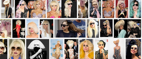 Headline for 15+ of Lady Gaga's Many Mad HairStyles - What's Your Favourite?