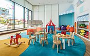 Children's playroom in Somerset Damansara Uptown Petaling Jaya