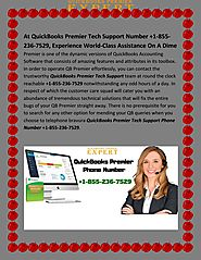 At QuickBooks Premier Tech Support Number +1-855-236-7529