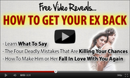 How to Get My Ex Back with Seven Simple Steps