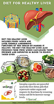 Best Diet for Healthy Liver Infographic, Foods Good for Liver Repair