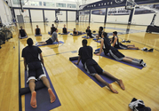 Athletes using meditation to improve performance