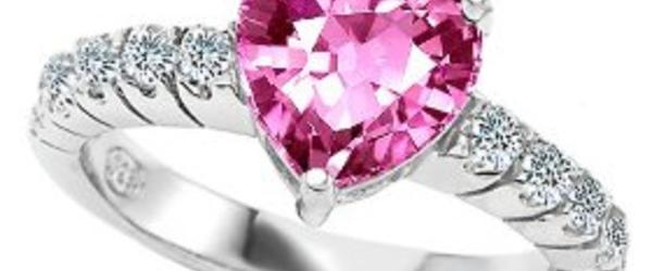 Headline for Buy Affordable Pink Sapphire Engagement Rings with Diamonds on Amazon