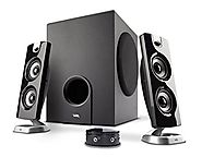 Cyber Acoustics 2.1 Computer Speaker with Subwoofer - Best for Music, Movies, Multimedia PC and Gaming Systems (CA-36...