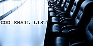 COO Email List:COO Email Database | COO Mailing Addresses | COO List