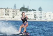 Wakeboarding and waterskiing