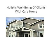 Holistic Well-Being Of Clients