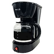 InnoLife CM1009-ET 12-Cup Coffee Maker Coffeemaker with Glass Carafe, Black