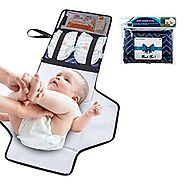 Baby Diaper Changing Mat Portable Changing Pad for Travel Kit WILLCARE