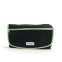 The First Years Deluxe Fold and Go Diapering Kit, Black/Green