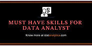 Top 8 key Skills That Every Digital Analyst Should Have : Statanalytica