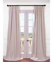 Cottage White Bellino Blackout Curtains & Drapes