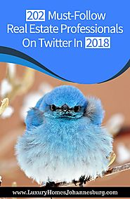 202 Must-Follow Real Estate Professionals On Twitter In 2018